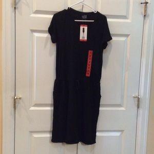 Women's 32 Degrees Black Dress M NWT